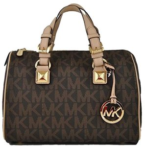 Michael Kors Grayson Satchel in Brown
