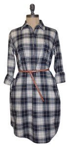 Anthropologie short dress MULTI COLORED Plaid Plaid on Tradesy