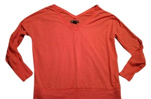 American Eagle Outfitters Aeo Medium Longsleeve Orange Sweater