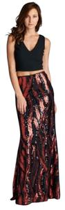 AG Studio Sequin Evening Dress