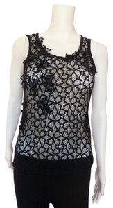 Gap Lace Top Black