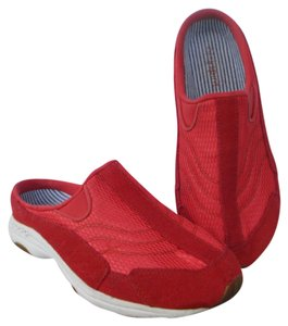 Easy Spirit Red Mules