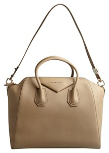 Givenchy Leather Tote in Beige