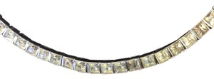 Dorsons division of D Ornstein and corporation, New York Art Deco Collectors Sterling Silver Necklace With Rhinestones
