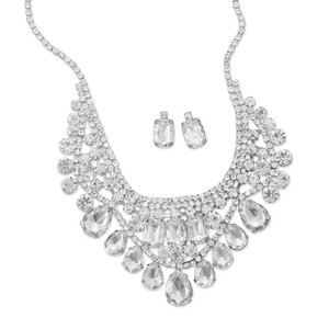Crystal Fashion Necklace And Earring Set