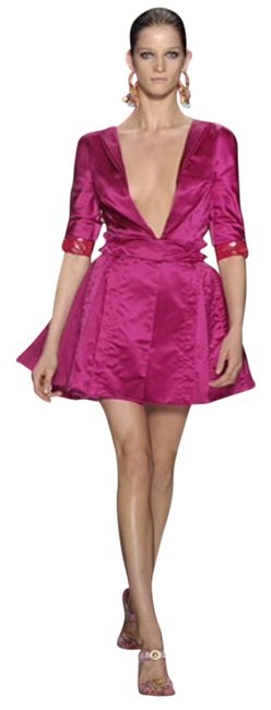 Preload https://item4.tradesy.com/images/louis-vuitton-pink-above-knee-night-out-dress-size-2-xs-2013928-0-0.jpg?width=400&height=650