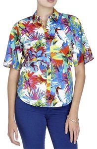 Love Moschino Button Down Shirt MULTICOLOR