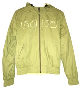 c60749caf8b Burton Snowboard Skateboard Greentea Green Yellow Reversible Jacket