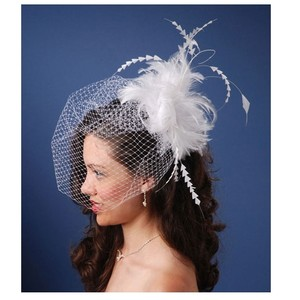 Feather Birdcage Headpiece