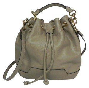 Rebecca Minkoff Leather Tote Drawstring Shoulder Bag