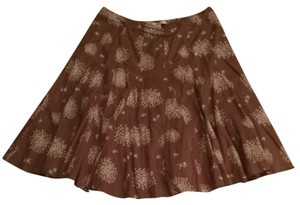 Coldwater Creek Skirt Light Brown
