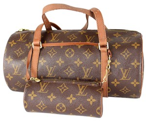 Louis Vuitton Barrel Bedford Speedy Shoulder Bag