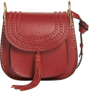 Chloé Chloe Hudson Tassel Learher Shoulder Bag