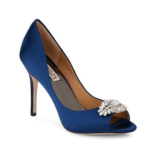Badgley Mischka Wedding Navy Formal