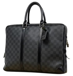 Louis Vuitton Attache Altona Briefcase Icare Damier Graphite Travel Bag