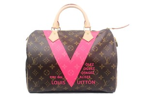 Louis Vuitton Speedy V Speedy Tote in Monogram