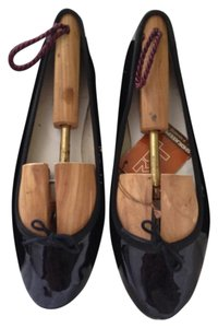 Repetto Patent Leather Ballet Black Flats
