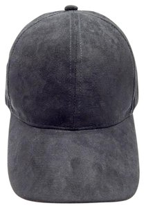 Suede Baseball Hat