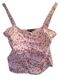 Other Floral Pink Sparkle Pin-up Retro Top Pink floral