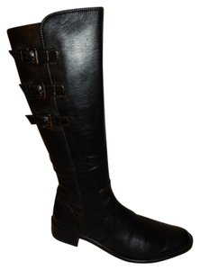 Paul Green 14.5 Inch Shaft Black Boots
