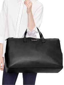 Kate Spade Leather Gold Travel Black Travel Bag