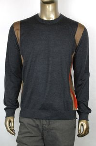 Gucci New Auth Gucci Mens Gray Wool/cashmere/silk Sweater 3xl 354074 1220