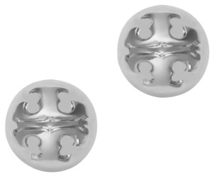 Tory Burch Tory Burch Silver Dommed Stud Earrings