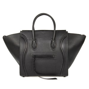 Cline Celine Luggage Phantom Tote in Black