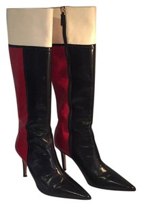 Kate Spade Red/black/white Boots