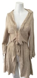 Other Sparrow Anthropologie Rouched Cardigan Sweater