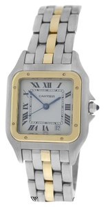 Cartier Ladies Midsize Cartier Panthere 110000R One Row 18K Gold 26mm