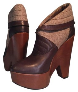 Derek Lam Brown Platforms