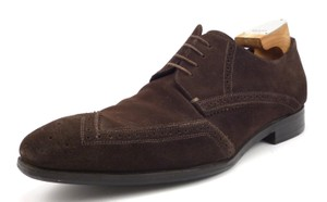 Prada Men's Suede Wingtip Oxfords