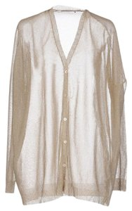 Mes Demoiselles Metallic Sweater Buttondown Bohemian French Cardigan