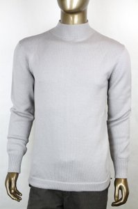 Gucci Gray W New Mens Long Sleeve Wool Sweater W/Gg Logo 3xl 363928 4864 Groomsman Gift