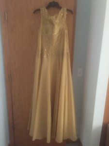 Gold Dy10113 Dress