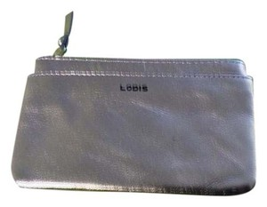 Lodis Lodi's Pink Gold Metallic Small Change Purse nwot