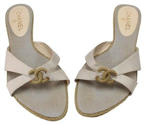 Chanel Cc Cambon Xl Flip Flops Sandals