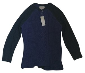 Heartloom Black Blue Pullover Sweater