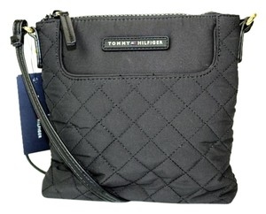 Tommy Hilfiger Monogram Quilted Cross Body Bag