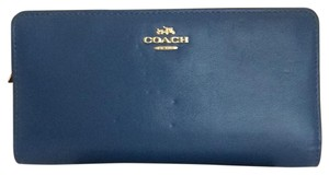 Coach Coach Madison Leather Skinny Wallet