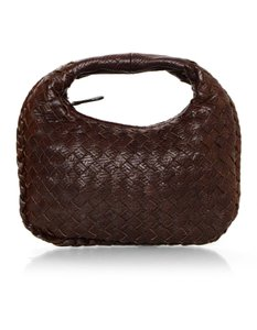 Bottega Veneta Woven Leather Mini Mini Hobo Bag
