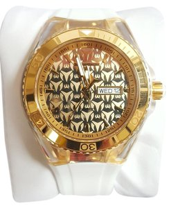 TechnoMarine Technomarine TM115152 Unisex Gold Monogram Swiss Watch
