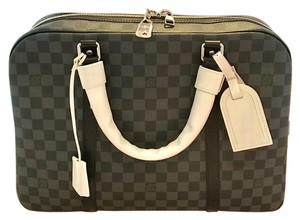 Louis Vuitton Luggage Satchel in Gray Black