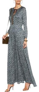 Blue Maxi Dress by Tory Burch Alice + Olivia Haute Hippie