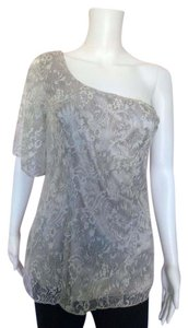 Guess Lace One Cocktails Top Silver