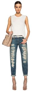 R13 Skinny Distressed Relaxed Fit Jeans