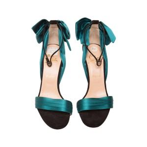 Christian Louboutin Teal Sandals
