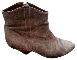 Isabel Marant Ankle Suede Taupe Boots