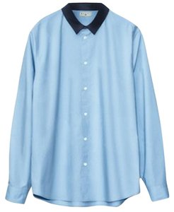 Marni Zara Topshop Anthropologie Madewell Mens Button Down Shirt